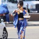 Vanessa Hudgens – Grabbing iced coffee in Los Feliz - 454 x 650