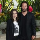 Winona Ryder and Keanu Reeves – 'Destination Wedding' Photocall in Beverly Hills - 454 x 584