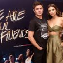 """Emily Ratajkowski attends the """"We Are Your Friends"""" tour stop photo call and after party at the Marquee on August 18, 2015 in New York City"""