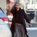 Halle Berry in Ripped Jeans out in West Hollywood