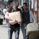 Zoe Saldana – Out and about in Los Angeles - 454 x 681