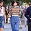 Alexandra Daddario – Filming 'Can You Keep A Secret' in New York