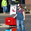 Alyson Hannigan and Alexis Denisof – Spotted shopping at Ace Hardware - 454 x 588