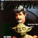 George Lucas - Ciné Live Magazine Cover [France] (October 1999)