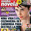 Débora Falabella, Avenida Brasil - Minha Novela Magazine Cover [Brazil] (28 March 2012)
