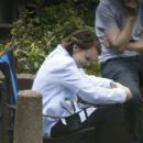 Carey Mulligan – Filming 'Collateral' set in London - 454 x 394