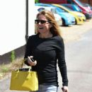 Geri Halliwell – In Jeans Out And About In Yattendon - 454 x 593