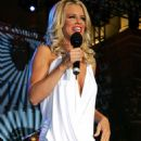 Jenny McCarthy - Short White Dress At Caesars Palace