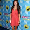 Chloe Bridges at Just Jared's Summer Bash Pool Party in Los Angeles - 454 x 651