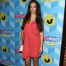 Chloe Bridges at Just Jared's Summer Bash Pool Party in Los Angeles - 454 x 647