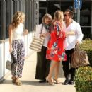 AnnaLynne and Rachel McCord – Leaving a doctors office in Los Angeles