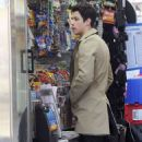 Nick Jonas was spotted enjoying some down time in New York City, March 30