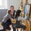 (L-R) VERA FARMIGA as Kate, PETER SARSGAARD as John and ISABELLE FUHRMAN as Esther in Dark Castle Entertainment's horror thriller 'Orphan,' a Warner Bros. Pictures release. Photo by Rafy.