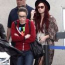 Demi Lovato's Cross-Country Weekend Travels