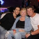 Lee, Brandon and Winsor celebrating the 23rd Annniversary of The Bold and The Beautiful playing Bowling