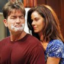 Charlie Sheen and Jennifer Taylor