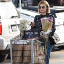 Lucy Hale – Shopping at Ralph's in Studio City