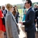 Emma Stone and Luke Evans – Audi Polo Challenge – Day Two in Ascot - 454 x 751