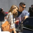 Jessica Alba Street Style – Out in Hollywood, September 2015 - 454 x 579