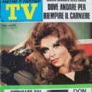 Tina Louise - TV Sorrisi e Canzoni Magazine Cover [Italy] (24 November 1968)