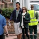 Emma Watson was spotted out in London this morning, August 25. She was joined by her boyfriend  Will