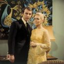 Anthony Valentine and Alexandra Bastedo (1970).