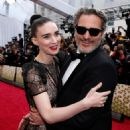 Rooney Mara and Joaquin Phoenix At The 92nd Annual Academy Awards - Arrivals