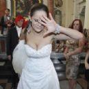 Paula Marciniak with Michał Wiśniewski - wedding?