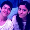 Elmo Magalona and Lauren Young