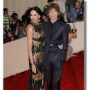 L'Wren Scott and Mick Jagger at 2011 MET Costume Institute Gala on May 2, 2011