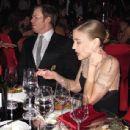 Michael C. Hall and Morgan Macgregor Show PDA At Emmys 2012 Photo - 454 x 438
