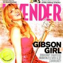 Deborah Gibson - Lavender Magazine Cover [United States] (25 April 2008)