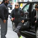 Jennifer Lopez – Heads to the gym in New York