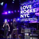 Robert Plant performs onstage during the Third Annual Love Rocks NYC Benefit Concert for God's Love We Deliver on March 07, 2019 in New York City - 454 x 302