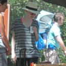 Dakota Fanning kicked off her summer vacation by going for a hike today, May 12, in Los Angeles