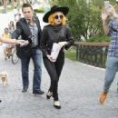 Lady Gaga: in Herastrau Park in Bucharest