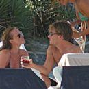 Leonardo DiCaprio and Anne Vyalitsyna