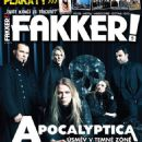 Apocalyptica - Fakker! Magazine Cover [Czech Republic] (May 2015)