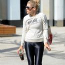 Busy Philipps in Tights at Lekfit gym in Los Angeles