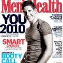 Sean Faris - Men's Health Magazine Cover [United States] (January 2010)
