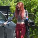 Bella Thorne – Seen Out in Los Angeles - 454 x 763