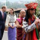 Britain's Prince William and Duchess Catherine visit Bhutan (14th April 2016)