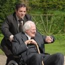 Andy Nyman as Howard and Peter Vaughan as Uncle Alfie in Metro-Goldwyn-Mayer's Death at a Funeral - 2007