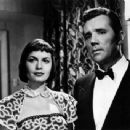 Eva Bartok and Howard Duff
