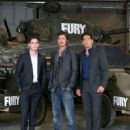 'Fury' Photo Call At The Tank Museum In Bovington, England - 454 x 585