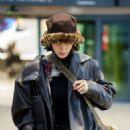 Bella Hadid – Arrives at Heathrow Airport in London