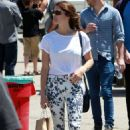 Ashley Greene Shopping In Los Angeles