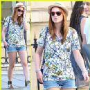 Leighton Meester & Jessica Stam: Celine Shoppers