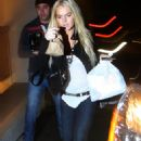 Lindsay Lohan - At Samantha Ronson's House In West Hollywood, 2009-11-09