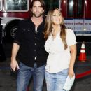 Jillian Barberie and Grant Reynolds